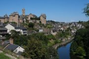 Uzerche, town on the Vezere river