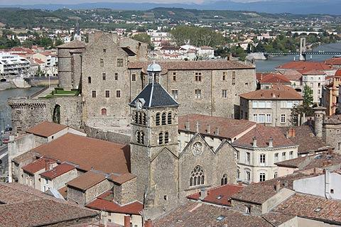 tournon sur rhone is an attractive village in the ardeche. Black Bedroom Furniture Sets. Home Design Ideas