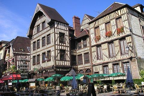 Photo de Troyes en North East France (Champagne-Ardenne region)