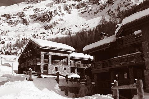 Photo de Val d'Isere en Alps ski resorts (Rhone-Alpes region)