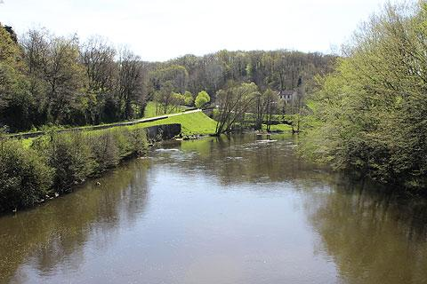 Photo de la vallée de la Creuse