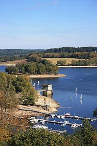 Lac de Vassivière, dans l'ouest de la Haute-Vienne department