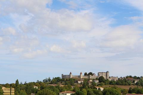 Photo of Sainte-Croix-de-Mareuil in Dordogne
