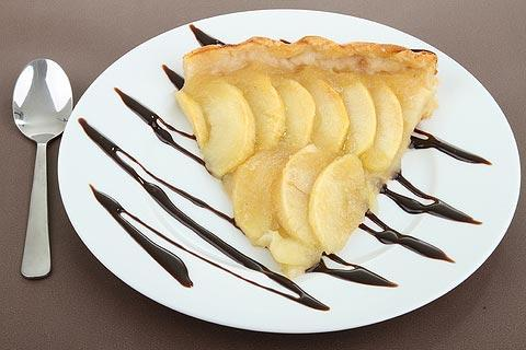photo of apple tart