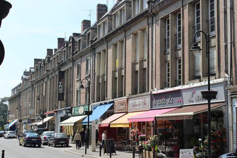 Centre ville et commerces d'Abbeville