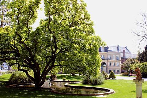 Jardin d'Emonville dans Abbeville