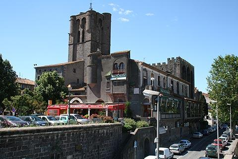 Agde church