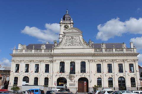 Town Hall in Aire sur la Lys