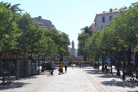 Ajaccio Corsica travel and tourism attractions and sightseeing and