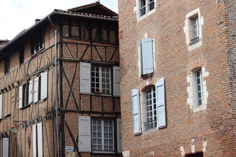 Medieval houses in Albi
