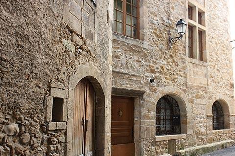 Maison médiévale à Alet-les-Bains