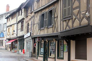 Vieille ville d'Ambert old town