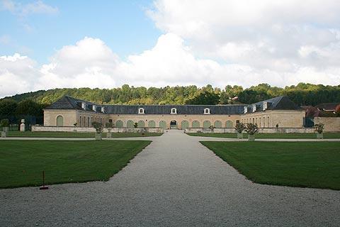 Ecuries pour le Château d'Ancy-le-Franc