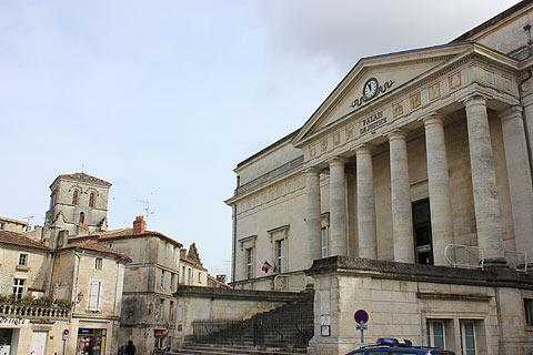 Law courts in Angouleme