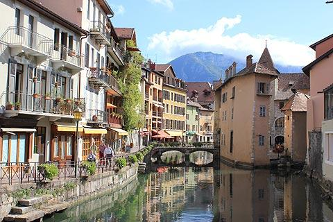 Tourist map of lake Annecy |Annecy France Attractions