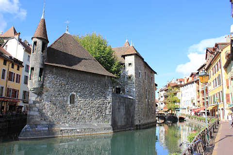 Annecy tourist attractions map |Annecy France Attractions