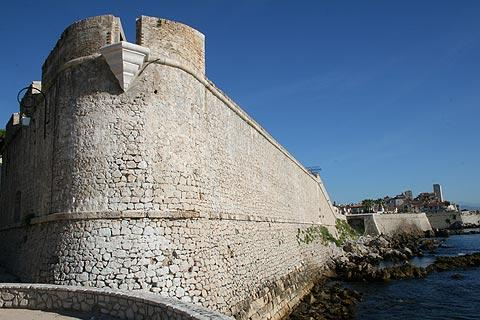 Défenses de Vauban à Antibes