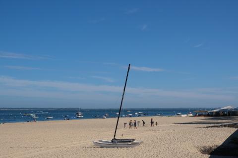 Pereire beach, Arcachon