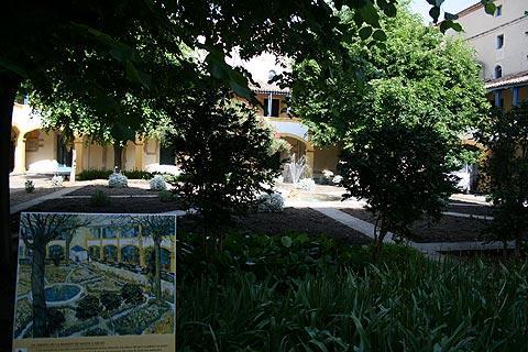 cour de Van Gogh à Arles