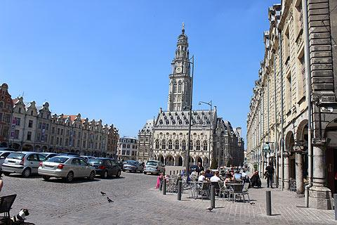 Town hall in the centre of Arras
