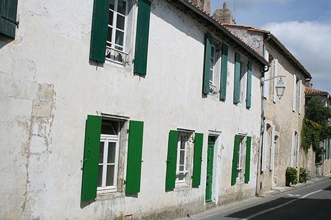 Traditional small cottages