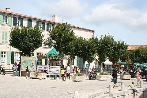Centre village à Ars-en-Ré