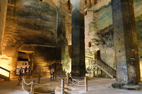 Subterranean Monolithic Church of Saint-Jean in Aubeterre-sur-Dronne