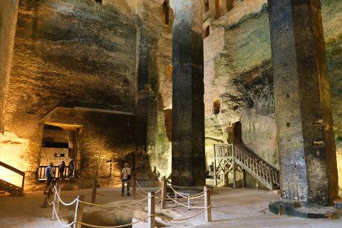 Subterranean Monolithic Church of Saint-Jean in Aubeterre-sur-Dronne