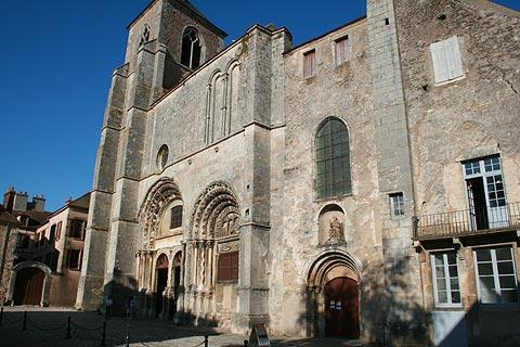 Roman style church in Avallon
