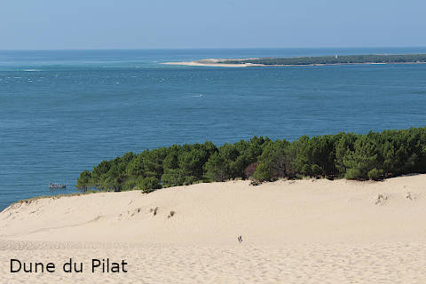 View from the Dune du Pilat