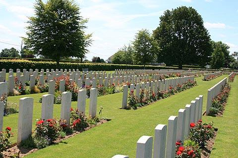 World War 2 war cemetery