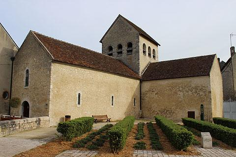 Charming church in the romanesque style