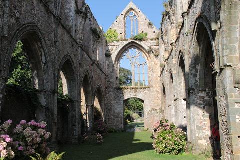 jardins de l'abbaye de Beauport