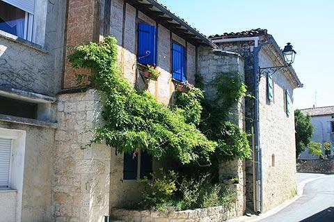 Maisons anciennes à Beauville