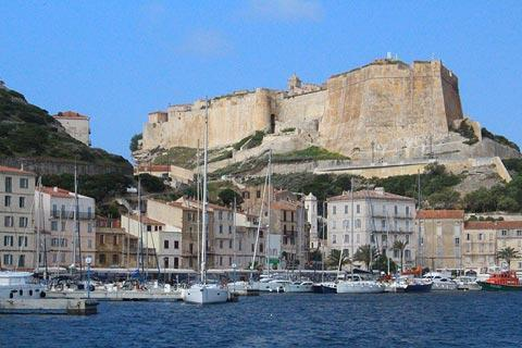 harbourside in Bonifacio