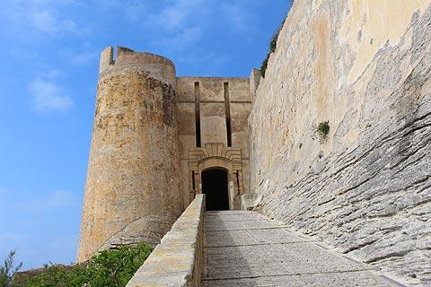 Bonifacio Corsica travel and tourism attractions and sightseeing