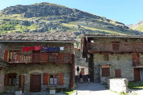Centre du village de Bonneval-sur-Arc