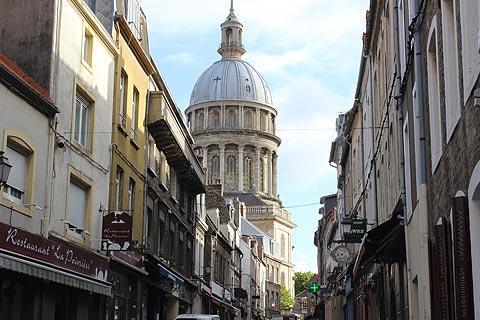 Baisilica Notre Dame in Boulogne