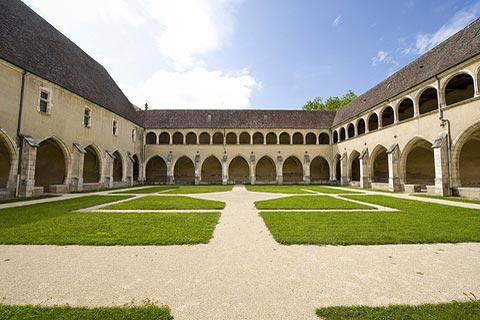 Cloisters of the Royal Monastery at Brou
