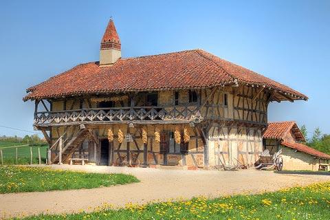 Musée de la ferme à Courtes