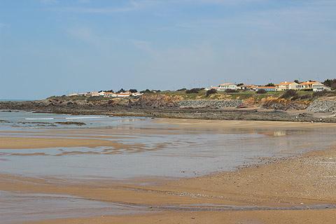 la plage principale de Bretignolles-sur-Mer