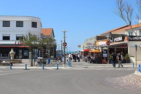 Centre ville de Bretignolles-sur-Mer