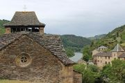 church-and-river