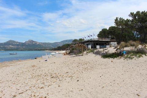 Beach in Calvi
