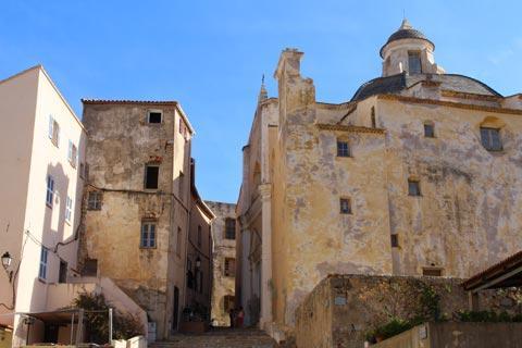 cathédrale de la citadelle de Calvi