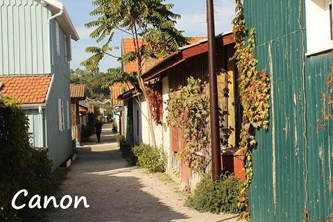 Le Canon village sur Cap Ferret