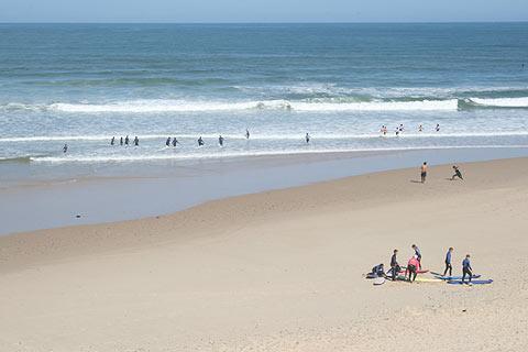 Surf à Carcans Plage