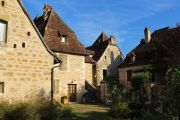 group-of-stone-houses