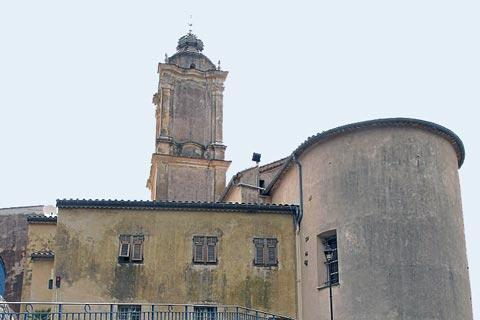 Church Saint-Pierre in Castellar village