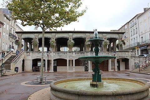Fontaine à Castelnaudary